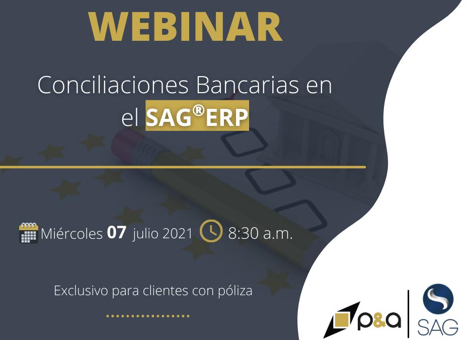 Webinar de Conciliaciones Bancarias en el SAG®ERP